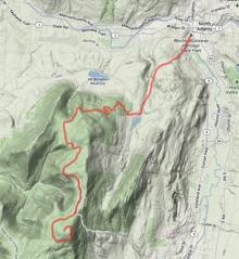 Greylock Topo Map - Ouchie